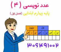 جزوه و نمونه سوالات عددنویسی و الگوها از ریاضی پایه چهارم جدید 97